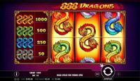 888 Dragons Slot Slot Reels