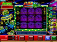Alien Cash Attack Slot Bonus 1