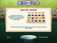 Baker's Treat Slot Info