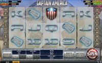 Captain America - The First Avenger Slot Slot Reels