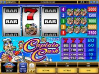 Captain Cash Slot Slot Reels