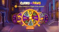 Claws vs Paws Slot Wheel