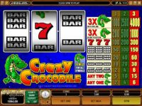 Crazy Crocodile Slot Slot Reels