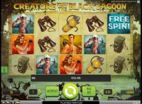 Creature from the Black Lagoon Slot Slot Reels