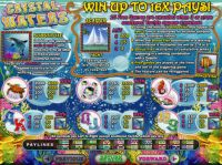 Crystal Waters Slot Info