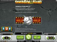 Demolition Squad Slot Bonus 1