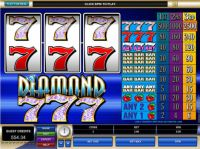 Diamond Sevens Slot Slot Reels