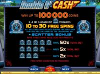 Double O'Cash Slot Info