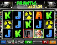 Dr.Frantic and the Lab of Loot Slot Slot Reels