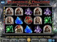 Dungeons & Dragons - Crystal Caverns Slot Main