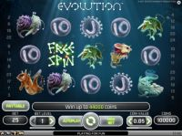 Evolution Slot Slot Reels