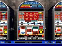 Fire and Ice 5 Line Slot Slot Reels