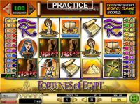 Fortunes of Egypt Slot Bonus 1
