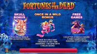 Fortunes of the Dead Slot Info