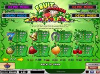 Fruit Bonanza Slot Info