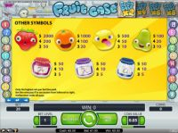 Fruit Case Slot Info