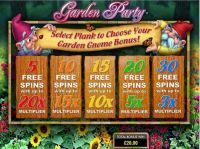 Garden Party Slot Main