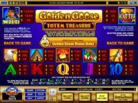 Golden Goose - Totem Treasure Slot Info