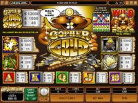 Gopher Gold Slot Info