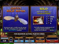 Great Griffin Slot Bonus 1