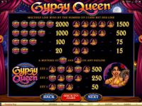 Gypsy Queen Slot Info