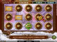 Hall of Gods Slot Bonus 1