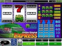 Intertops Express Slot Slot Reels