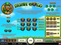 Irish Gold Slot Info