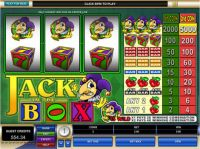 Jack in the Box Slot Slot Reels