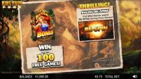 King Kong Fury Slot Info