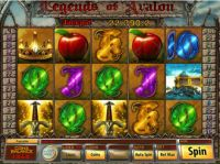 Legends of Avalon Slot Slot Reels