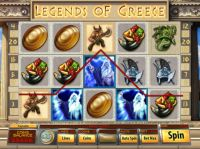 Legends of Greece Slot Slot Reels