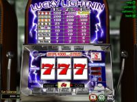Lucky Lightnin Slot Slot Reels