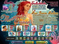 Mermaid Queen Slot Info