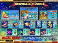 Mermaid's Quest Slot Info