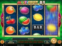 Multifruit 81 Slot Slot Reels