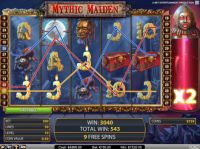 Mythic Maiden Slot Bonus 1