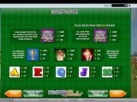 Nags to Riches Slot Info