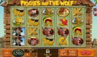 Piggies and the Wolf Slot Slot Reels