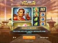 Planet Fortune Slot Info