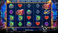 Queen of Atlantis Slot Slot Reels