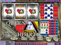 Queen of Hearts Vegas Technology Slot Slot Reels