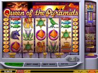Queen of Pyramids Slot Slot Reels