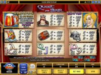 Quest for Beer Slot Info