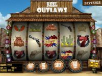 Reel Outlaws Slot Main