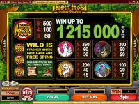 Robin Hood Feathers of Fortune Slot Info