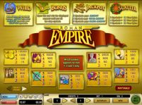 Roman Empire Slot Info