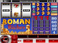 Roman Riches Slot Slot Reels