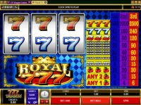 Royal Sevens Slot Slot Reels
