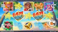 Sam on the Beach Slot Slot Reels
